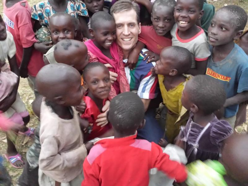 Me with my precious Kenyan orphans!