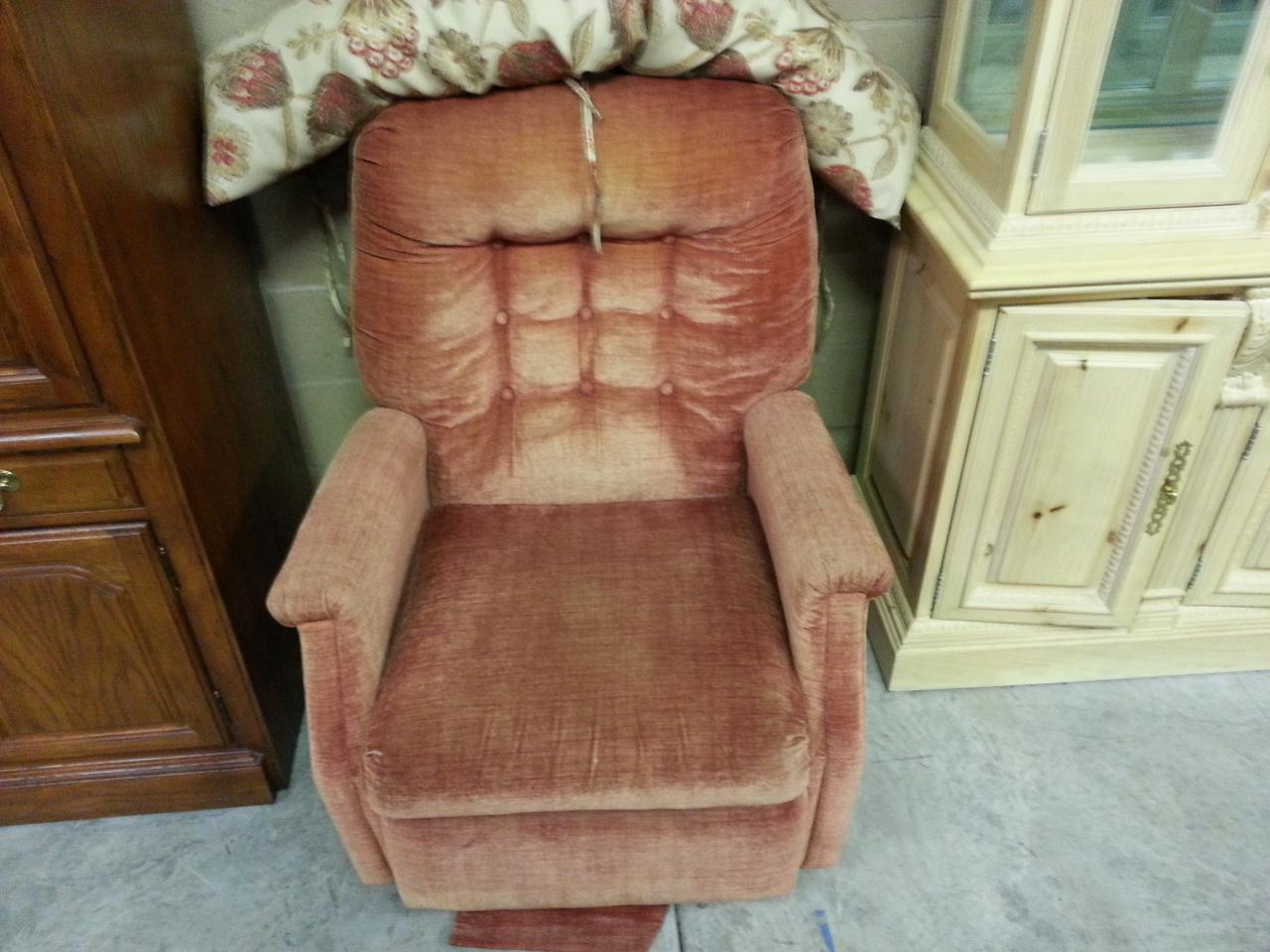 item 51 overstuffed chair best offer